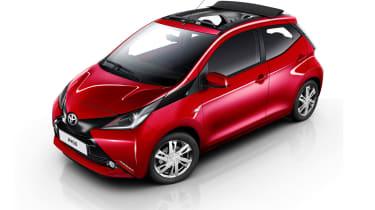 丰田AYGO X波得到可转换屋顶选项