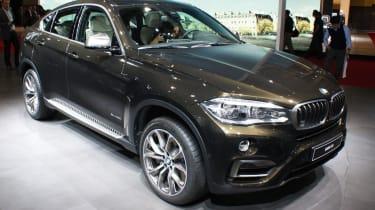 新宝马X6 2014在巴黎电机展上透露