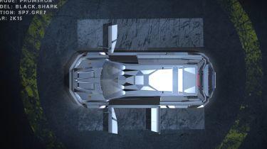 令人难以置信的1,500BHP,Kevlar-Clad Dartz Black Shark SUV透露