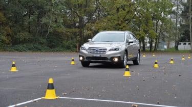 独家:我们测试Subaru的视力自主安全系统