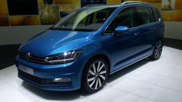 日内瓦首次亮相,更高效的VW Touran MPV