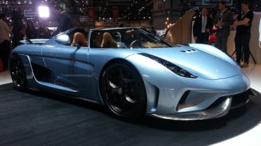 Koenigsegg Regera获得1,782bhp,可以在20秒内从0-248mph拍摄