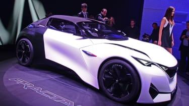 Peugeot分形概念得到尖端声音技术