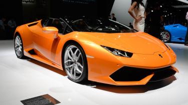 Lamborghini Huracan Spyder是一个铁杆201万小时的吹风机