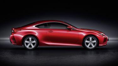雷克萨斯宣布推出新的RC 200T轿跑车,241bhp涡轮功率