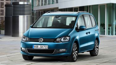VW Sharan 2015年竞争对手福特Galaxy,£26,300
