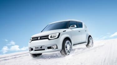 Suzuki Ik-2小舱口和IM-4 Mini-SUV在日内瓦透露