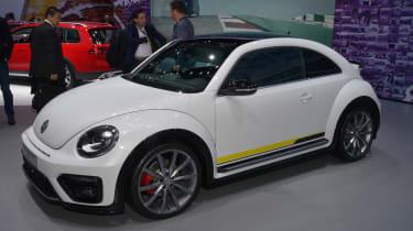 四个Fab新的VW甲虫概念在纽约鞠躬