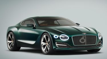 Bentley Barnato跑车为生产绿灯套装