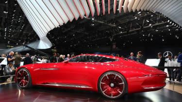 Mercedes-Maybach 6概念预览2017生产轿跑车