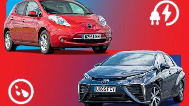 电动汽车VS氢轿车:独家真实世界分析
