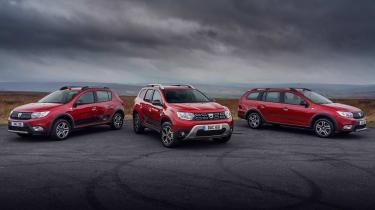 新的Dacia Dustre,Sandero和Logan TechRoad特别版是套件的命中