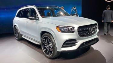 2019年梅赛德斯GLS:旗舰SUV在纽约透露