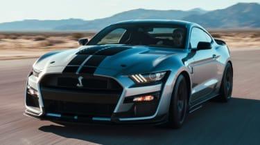 新的2020福特Shelby Mustang GT500生产760bhp