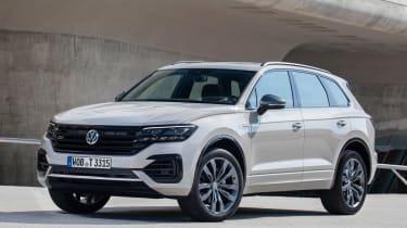 新的VW Touareg一百万庆祝生产地标
