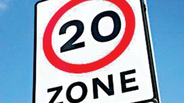 威尔士计划介绍默认的20mph速度限制