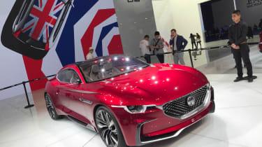 令人惊叹的全电动MG E-Motion Coupe将到2021年来到英国