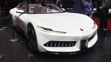 由Pininfarina设计的新Karma GT透露在上海
