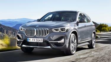 2019年新的BMW X1 Facelft添加了新技术和插件混合动力