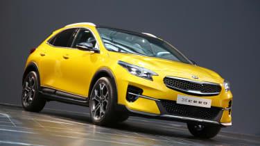 全新的Kia Xceed Crossover:英国价格宣布