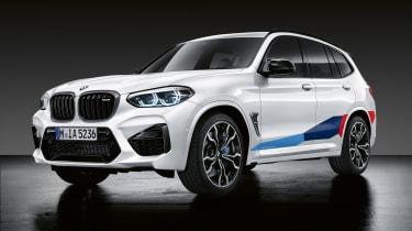 M新BMW X3和X4 M的性能零件透露