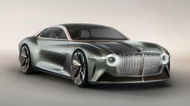 新的Bentley exp 100 GT概念揭示了庆祝品牌的百年