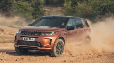 Land Rover Discovery Sport Range促进了2020年更新