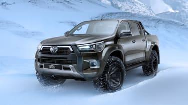 新的丰田Hilux AT35已准备好雪