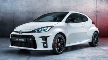 新的2020 Toyota GR Yaris:£29,995为四轮驱动热舱口的起始价格