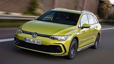 新的2020大众汽车高尔夫庄园现于英国现货