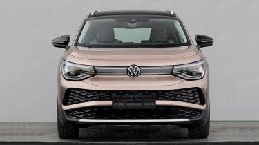 2021 Volkswagen ID.6电动SUV在发射之前泄漏
