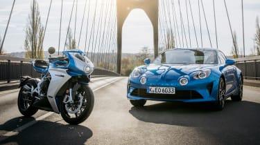 新的MV Agusta Superceloce Alpine Superbike需要A110灵感